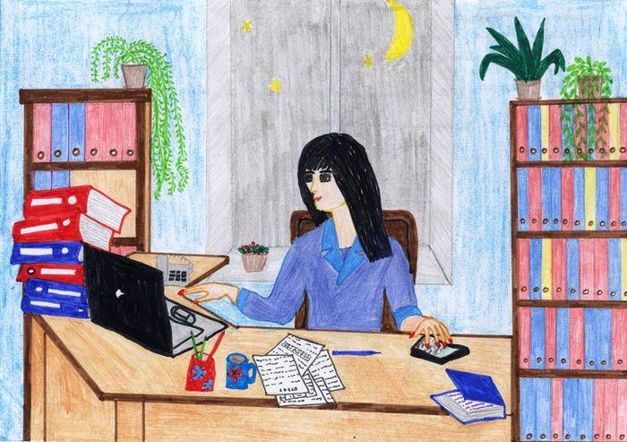 Нарисовать мама бухгалтер консультация бухгалтера бесплатно