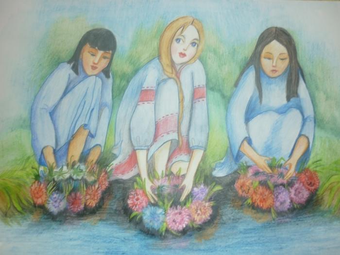 день ивана купала рисунок предлагает