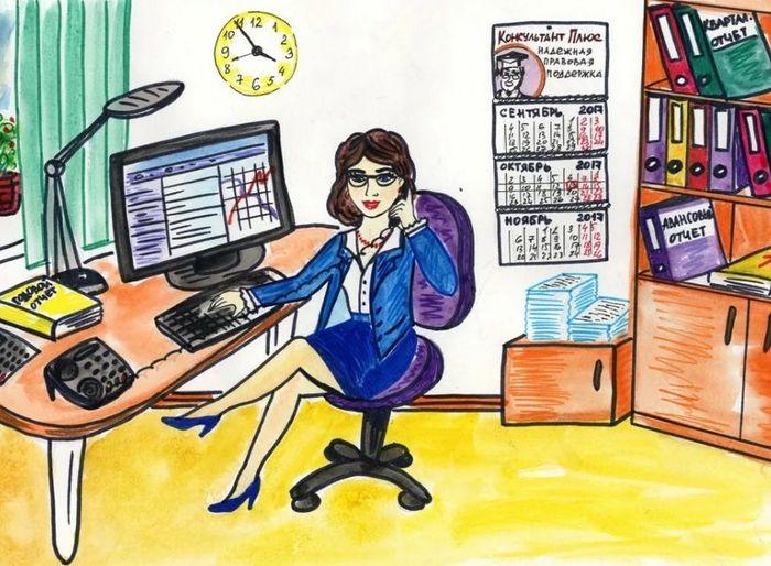 картинки про бухгалтеров во время отчетности моя знакомая однажды