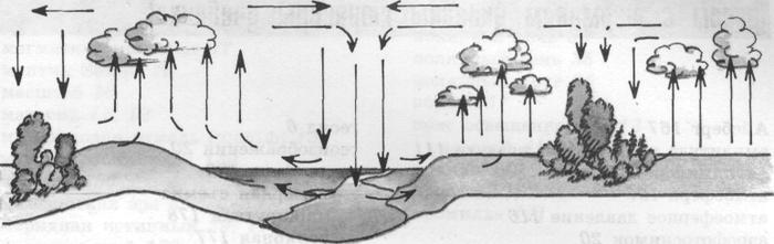 Возникновение ветра схема 3 класс фото 784