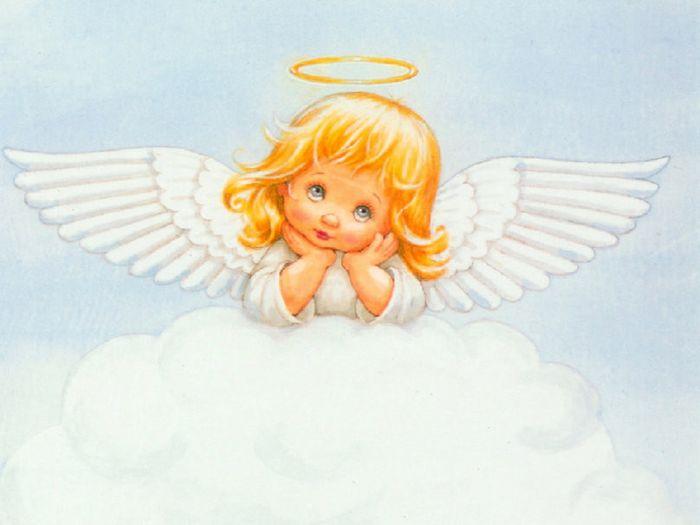Открытки дети с крыльями