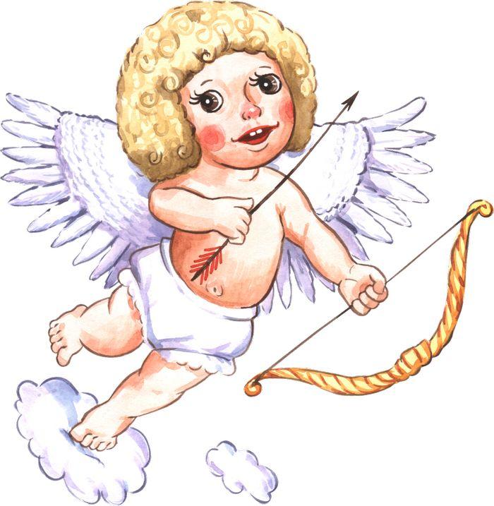 юмористические картинки с ангелочками лебеди