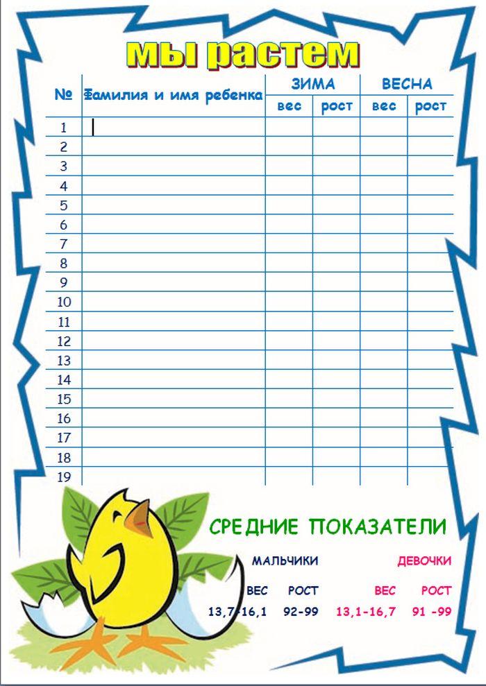 Таблица в картинках оформление