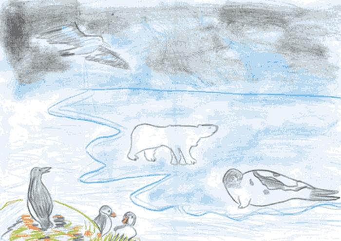 Рисунки по изо для 1 класса