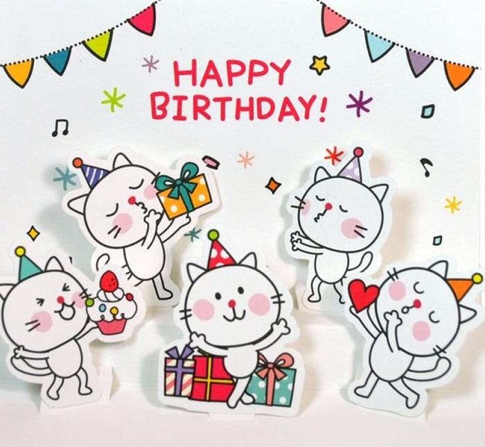 Поздравления на день рождения с рисунками