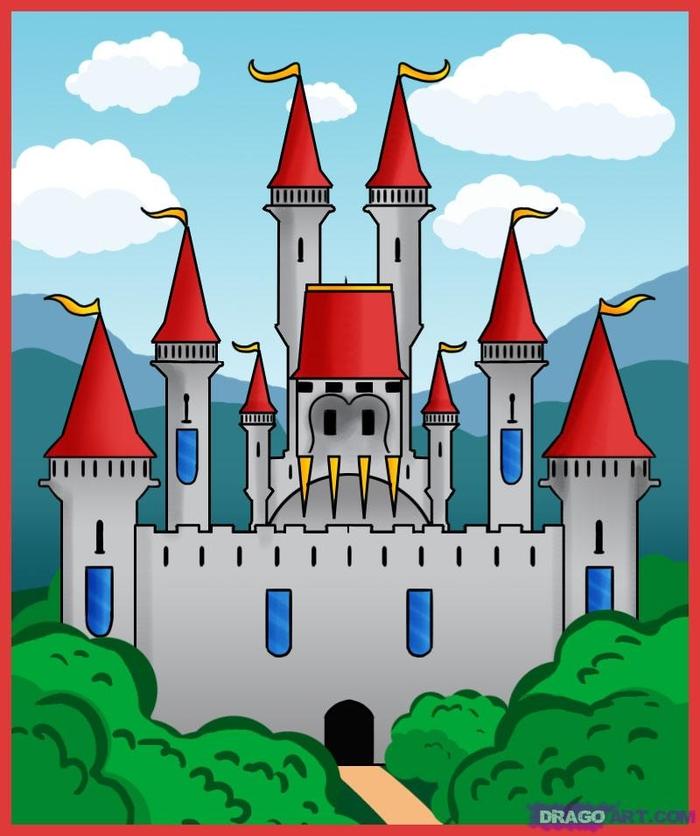 Замок и замок картинки для детей
