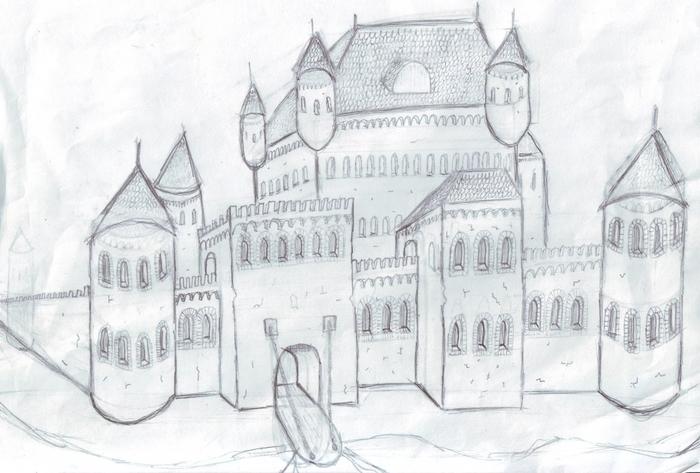 Картинка, мирский замок картинки для срисовки