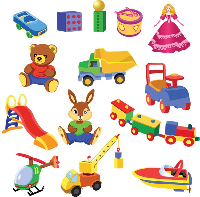 Маленькие картинки игрушек для печати
