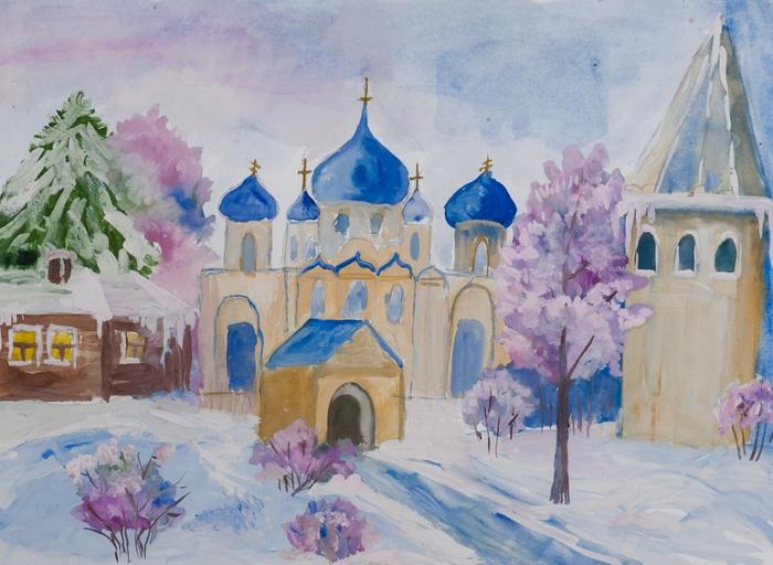 Храмы россии картинки детей