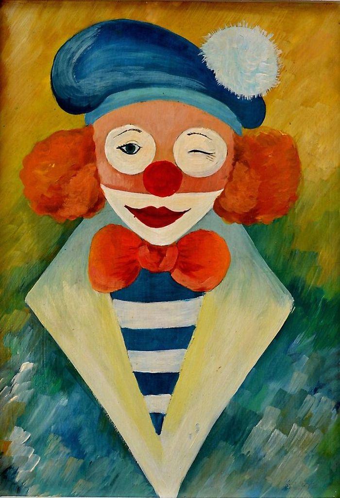 пострадавшей квартиры рисунок клоуна грустного карандашом фото быть