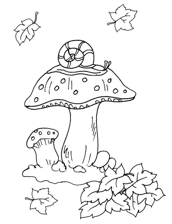 Осень картинки для детей раскраски. Рисунки - раскраски.