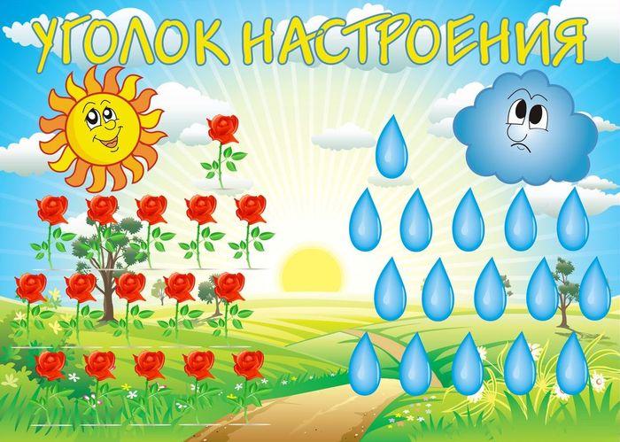 Картинки для детского сада настроение