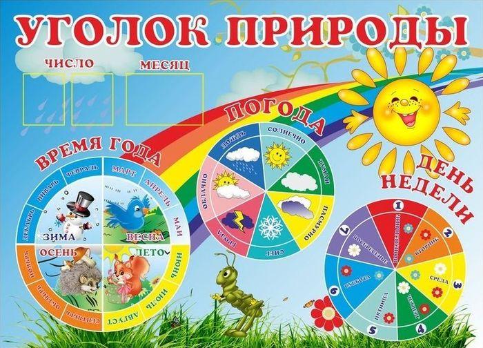 Картинки надпись календарь природы