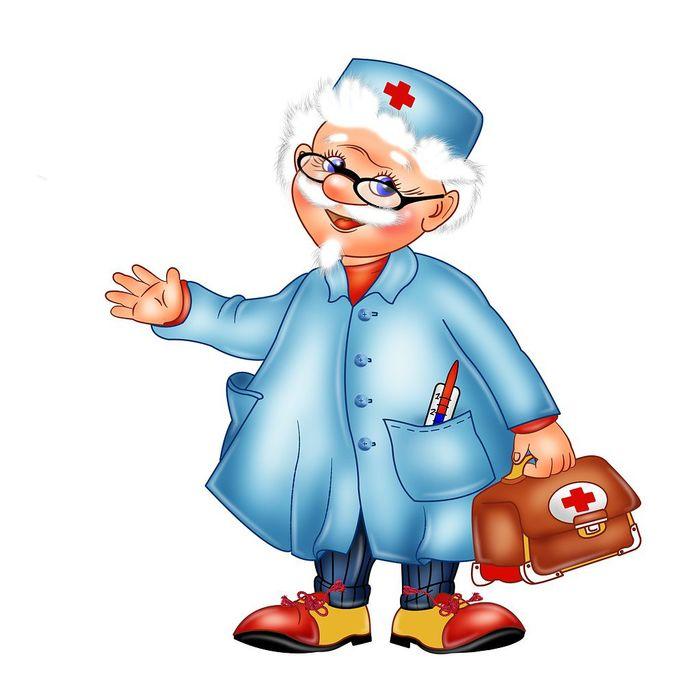 Профессия врача в детских рисунках. Картинки доктора для садика.