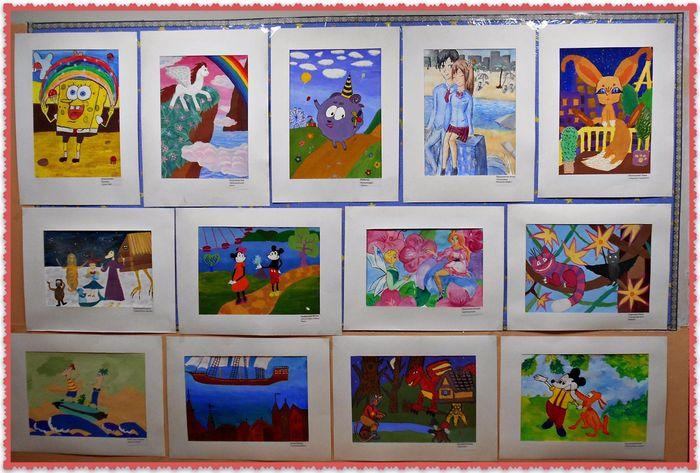 Картинки для выставки рисунков