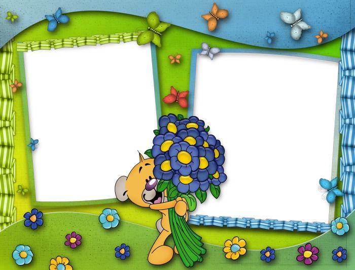 Красивые детские картинки для оформления альбома, ромашка