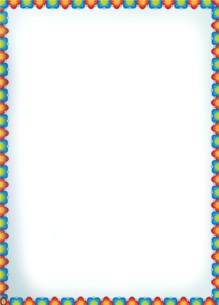 Рамки картинки для текста детские