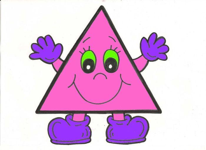 Прикольные треугольники в картинках