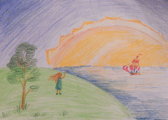картинка к стиху красное солнышко