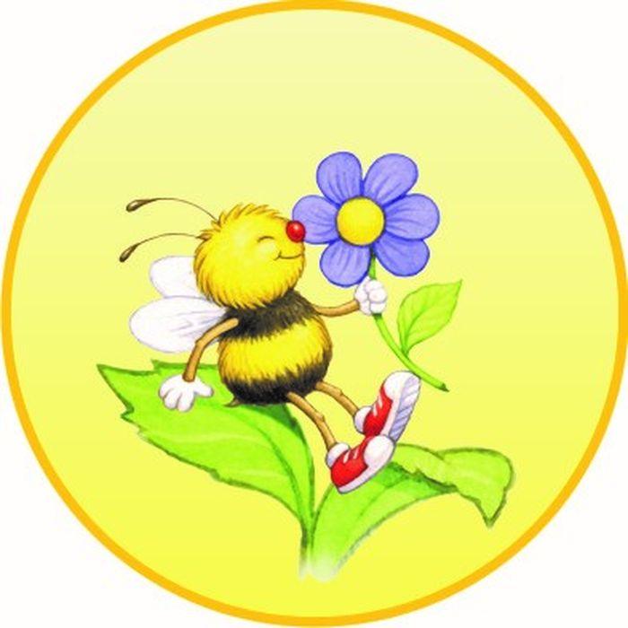 Картинка пчелки на шкаф