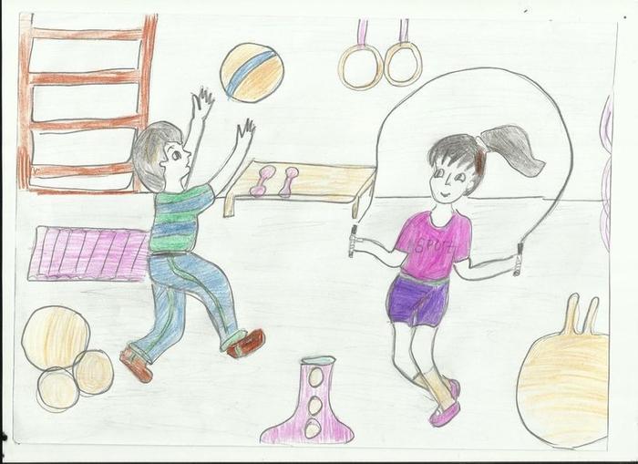 Картинки для детей урок физкультуры
