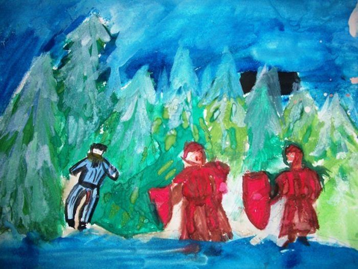 Картинки опера иван сусанин срисовать вне