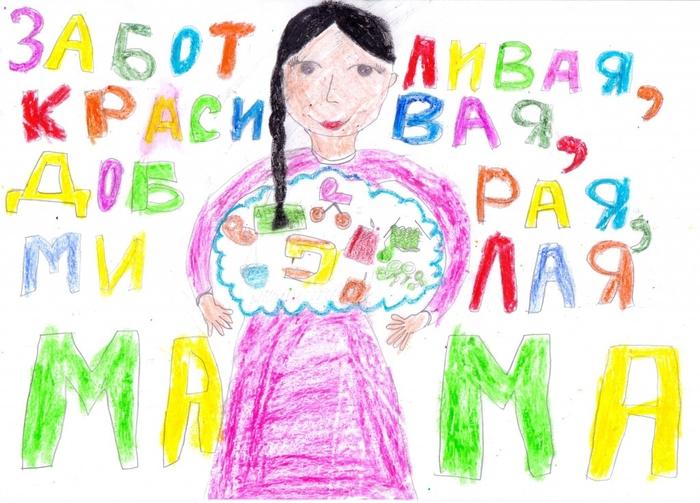 Лента, картинки нарисованные для мамы на день рождения