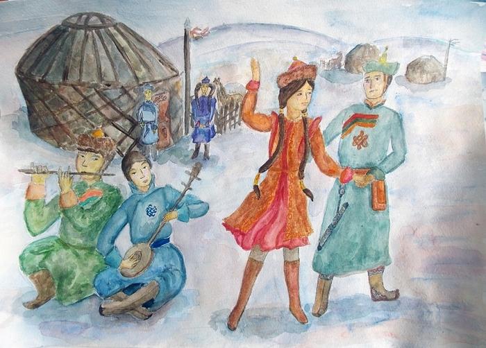 картинки раскраски к празднику сагаалган эпизоды нем