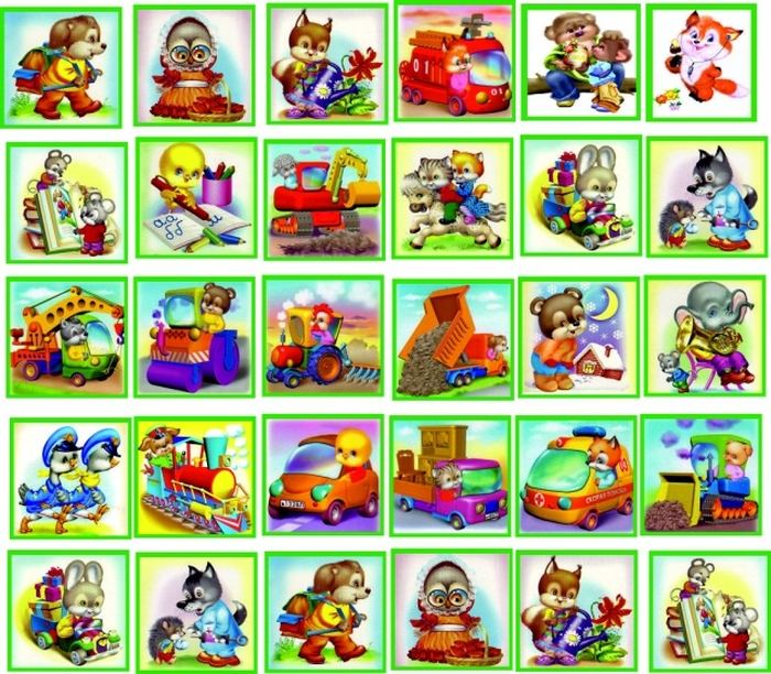 Картинки на шкафчики для детского сада распечатать