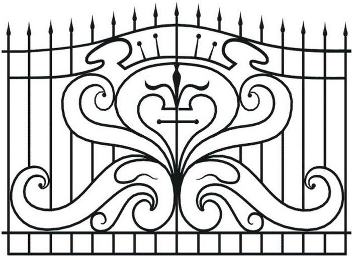Ажурные ограды картинка