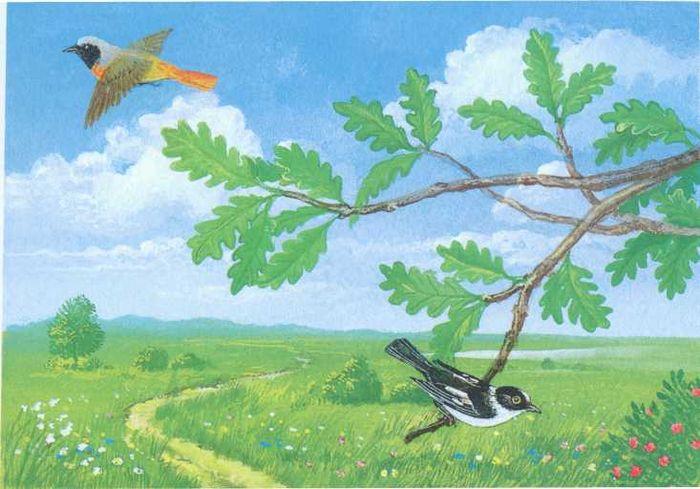 рисунки к стихотворению листок тютчев новороссийск