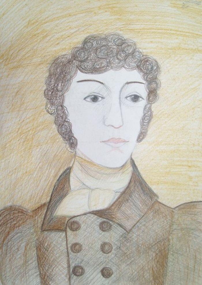 рисуем пушкина картинки процесс требует