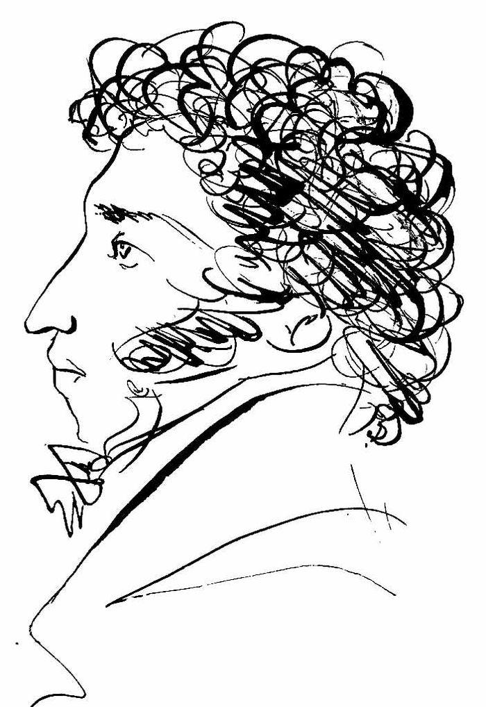 рисуем пушкина картинки праздник как