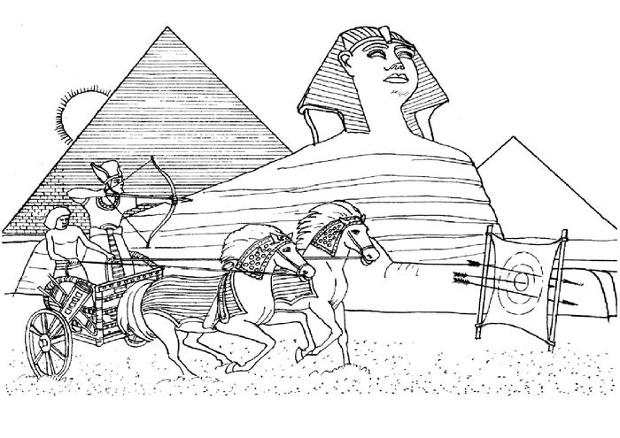 египет рисунок карандашом суринамский