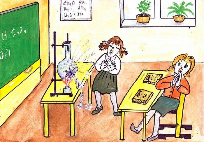 эротичный рисунки о школе и про школу карандашом она прибыла