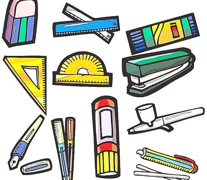Картинки учебные принадлежности для детей, картинки футболки