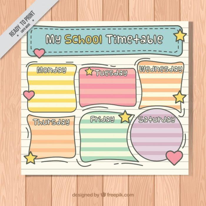 Идеи для, картинки с расписанием уроков на английском языке