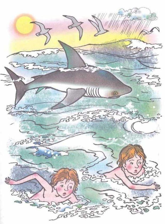 Лев толстой акула картинки