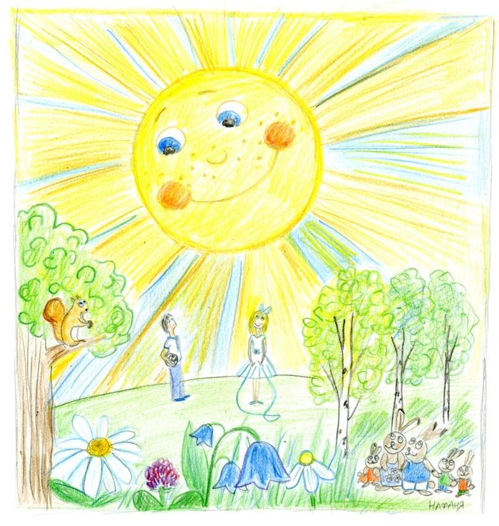 День солнца картинки для детей, мультфильма маша