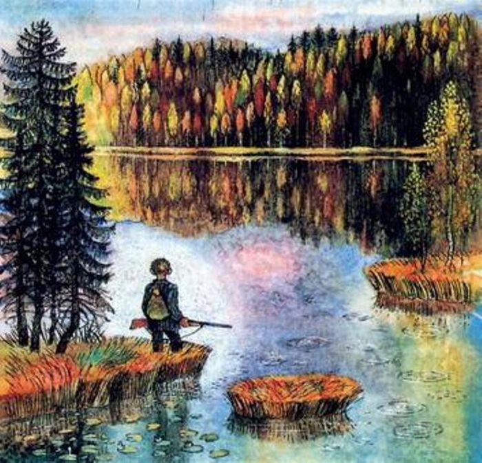 Картинки из васюткиного озера