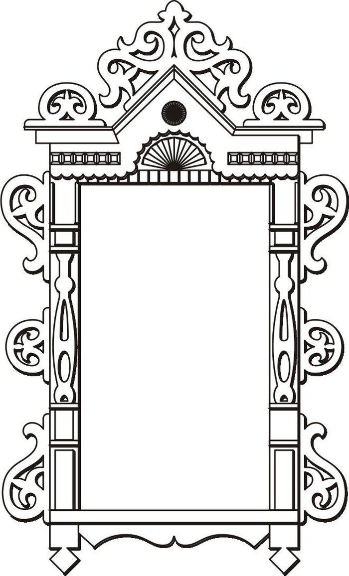 Рисунок окно с узорами