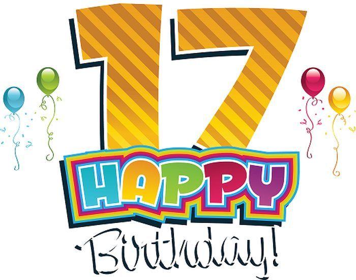 Открытки на день рождения 17 лет девушке