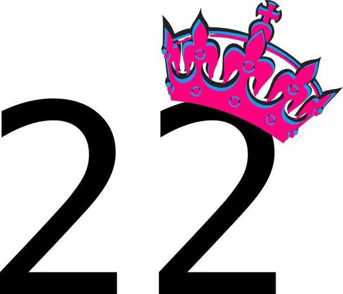 Открытка с цифрой 32, для кума