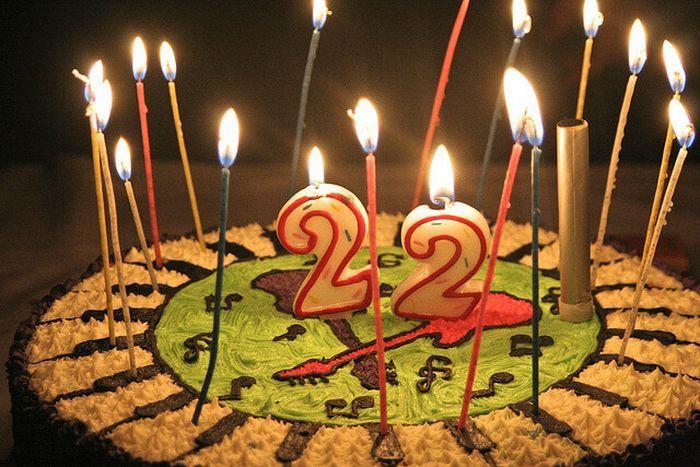 Короткие поздравления с 22 летием девушке