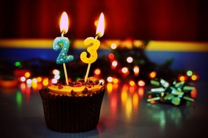 Поздравление с днем рождения на 23 лет девушке