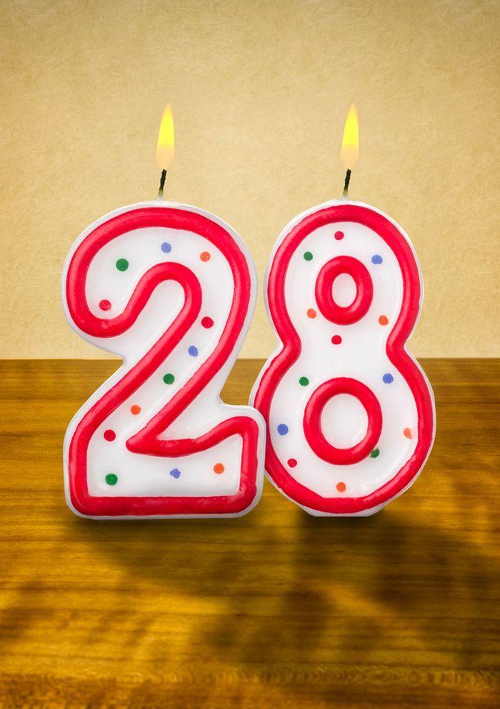 Поздравление с 28 летием другу