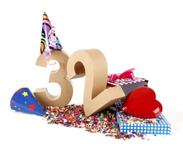 Надписями, картинки поздравления с 32 летием