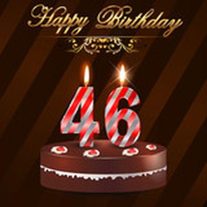 Поздравление с 46 летием для мужчины