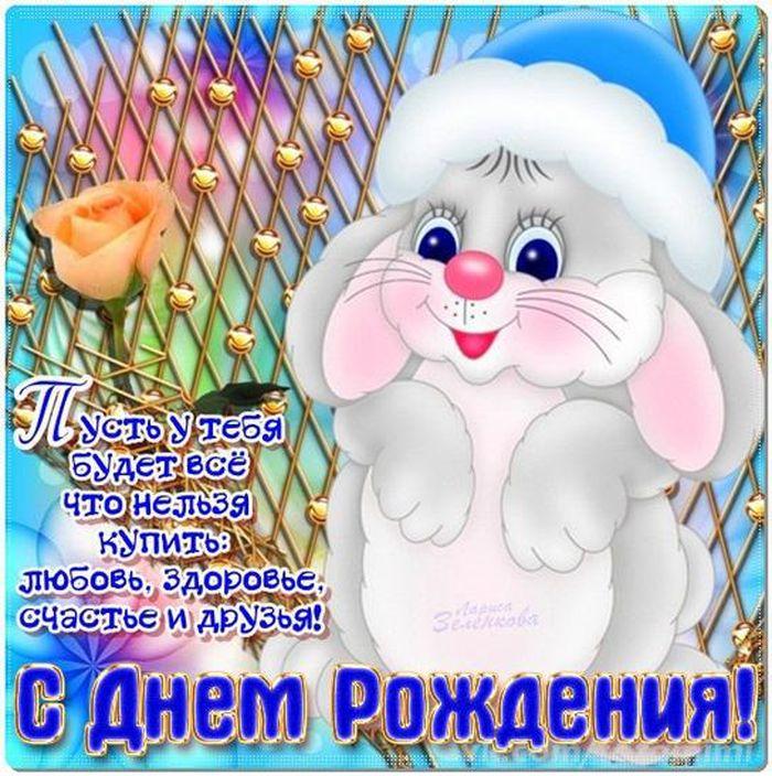 поздравление именинника с днем рождения на новый год клеток для кроликов