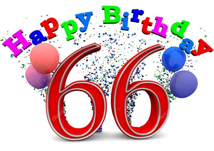 С днем рождения 66 лет женщине